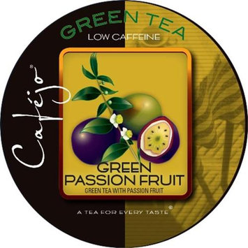 Cafejo Green Passion Fruit Tea K-Cups (24 Cups -$0.62 per cup)