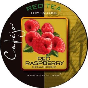 Cafejo Red Raspberry Tea K-Cups (24 Cups -$0.62 per cup)