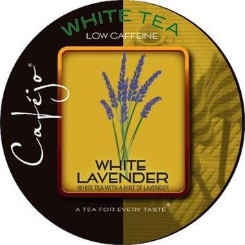Cafejo White Lavender Tea K-Cups (24 Cups -$0.62 per cup)