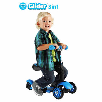 Toys 'r' Us Y Glider 3-in-1 Scooter- Blue