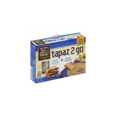 Mediterranean Snacks Tapaz 2 Go 3.6oz Pack of 6