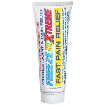 Freeze it Xtreme Pain Relief Gel