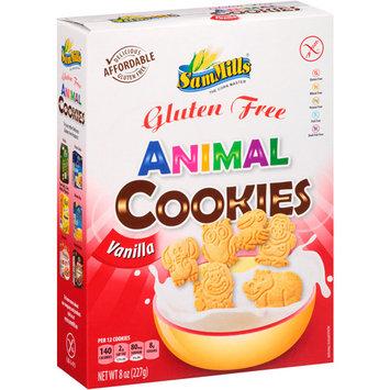 Sam Mills Gluten Free Vanilla Animal Cookies, 8 oz