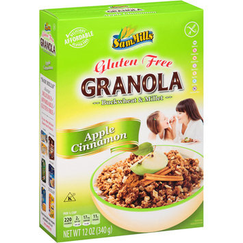 Sam Mills Apple Cinnamon Granola Buckwheat & Millet, 12 oz