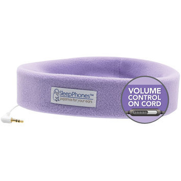 Sleepphones - Headband Headphones (extra Small) - Quiet Lavender