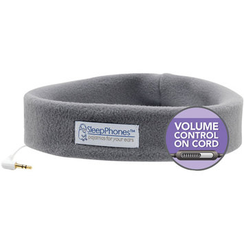 Sleepphones - Headband Headphones (one Size Fits Most) - Soft Gray