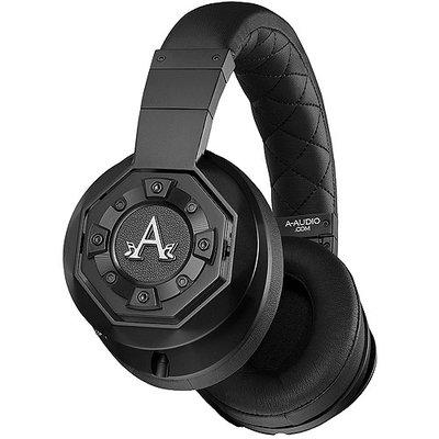 A-Audio Black A02 Legacy Over-Ear Headphones