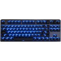Tg3 Electronics Inc TG3 KBA-CBL87P-BLU-DPU-L1 Deck 87-Key Blue LED Red MX Switch Keyboard