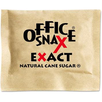 OFFICE SNAX 000063 Natural Cane Sugar, 2000 Packets/Carton