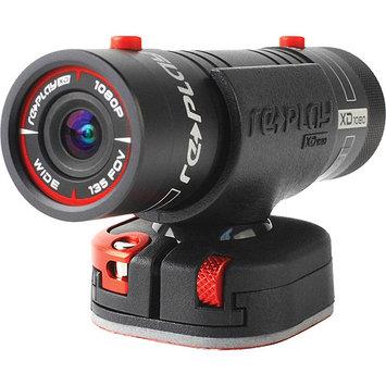 Replay XD XD1080 Prime X 1080P WiFi Action Camera, 5MP, 4GB Memory, HDMI/USB, Black
