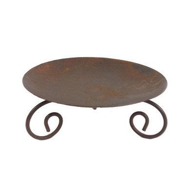 Craft Outlet Tin Pillar Dish (Set of 2)
