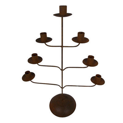 Craft Outlet Tin Metal Candelabra