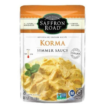 Saffron Road Simmer Sauce Korma 7 oz