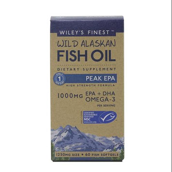 Wild Alaskan Fish Oil Peak EPA Wileys Finest 60 Softgel