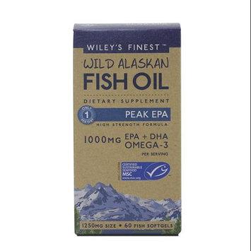 Wild Alaskan Fish Oil Peak EPA Wileys Finest 60 Softgel
