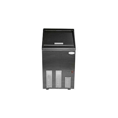 Bluestone Appliance 16.5 in. 80 lb. Undercounter Icemaker in Stainless Steel Door and Black Body BCIM65