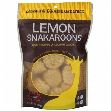 Laughing Giraffe Organics Snakaroons Lemon 1.25 oz - Vegan