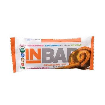 INBar Gluten Free Bar Cinnamon Swirl - 12 Bars - Vegan