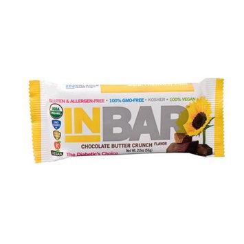INBar Gluten Free Bar Chocolate Butter Crunch - 12 Bars - Vegan