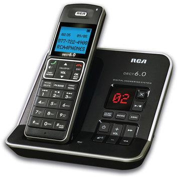 Rca 21121Bsga Silver Cordless Phone 6.0Dect Answering Machine