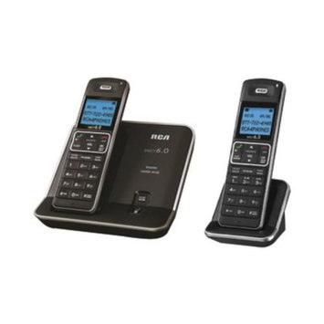 Rca 21112Bsga Silver Cordless Phone 2Handset 6.0 Speakerphone
