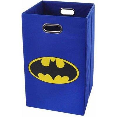 Modern Littles Batman Black Logo Folding Laundry Basket