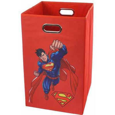 Modern Littles Superman Red Folding Laundry Basket