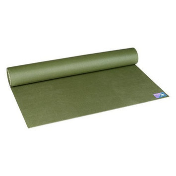 Jade Yoga - Fusion Extra Thick Yoga Mat - Olive - 74 in.