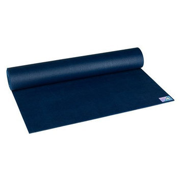 Jade Yoga - Fusion Extra Thick Yoga Mat - Navy Blue - 74 in.