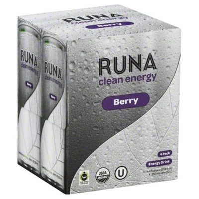 Runa Llc Runa Energy Bev Berry Clean 36.6 Fo Pack Of 6