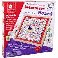 Classic World Memories Board Wood Craft Kit