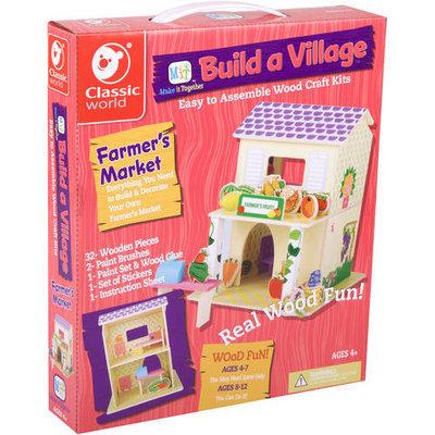 Classic World Build a Village - Farmer's Market
