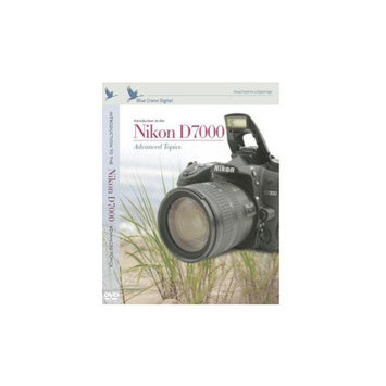 Blue Crane Digital Nikon D7000 DVD Instructional Volume 2 Manual Guide