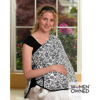 Bellies & Beyond Llc NursEase(R) Organic Breastfeeding Shawl - Medium