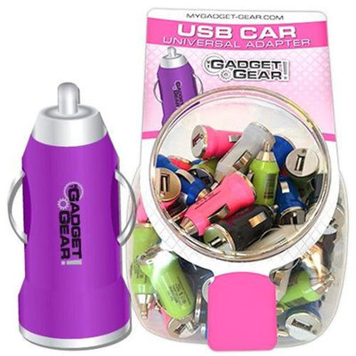 Deluxe Import Trading 181-4008 USB Car Universal Adapter - 40 Packs