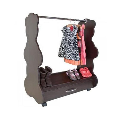 Ace Baby Furniture Bear Mobile Dress-Up Clothes and Shoes Organizer