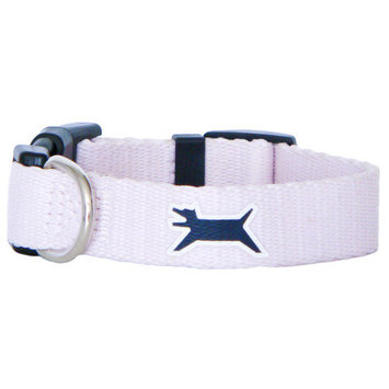 Wagberry Astor Pink Dog Collar Medium