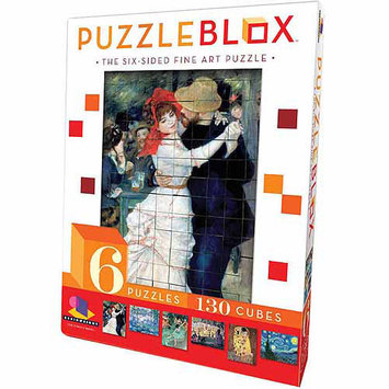 Ceaco/Brainwright 6-Sided Fine Art Puzzle Blox, 130 pieces