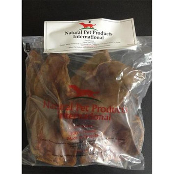 tural Pet Pharmaceuticals Natural Pet Products NPE10 Natural Pig Ears Dog Treat