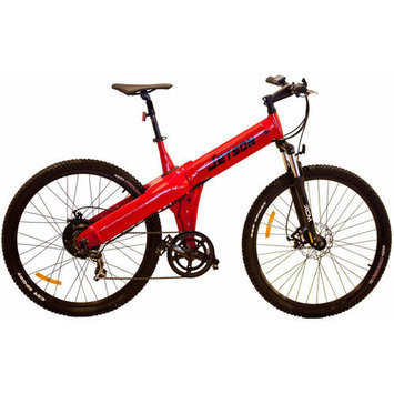 Jetson Bike Electric Mountain Bike Color: Red