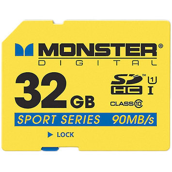 Monster Cable 32GB SDHC FS SD Card Sport90
