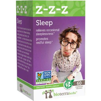 BioTerra Herbs - Z-Z-Z Sleep - 60 Vegetarian Capsules