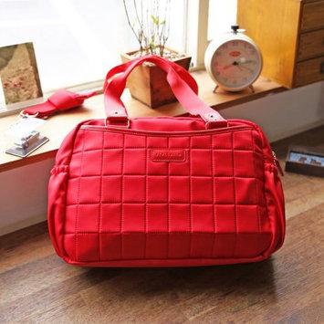 Perry Mackin stellakim Leslie Diaper Bag in Red