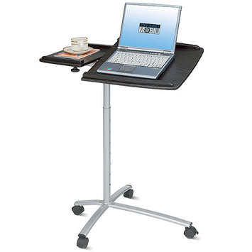 Techni Mobili CD-B001N-ES18 Adjustable Laptop Cart - Espresso