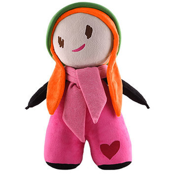 Pocket Products PocketPeople Huggable Lucia Doll