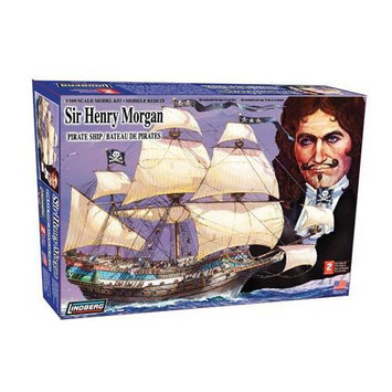 Lindberg 1:130 scale Sir Henry Morgan Model Kit