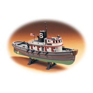 J Lloyd International Lindberg 1/87 scale Diesel Tug Boat - J. Lloyd International - 77221