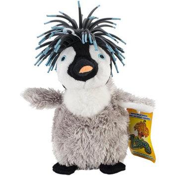 Innovation Pet Zibbies Plush Pet Toy W/Crazy Hair & Squeaker-Gigglez The Penguin