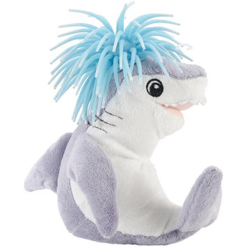 Innovation Pet Zibbies Plush Pet Toy W/Crazy Hair & Squeaker-Kona The Shark