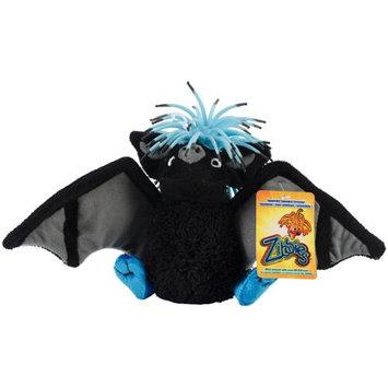 Innovation Pet Zibbies Plush Pet Toy W/Crazy Hair & Squeaker-Splunkz The Bat